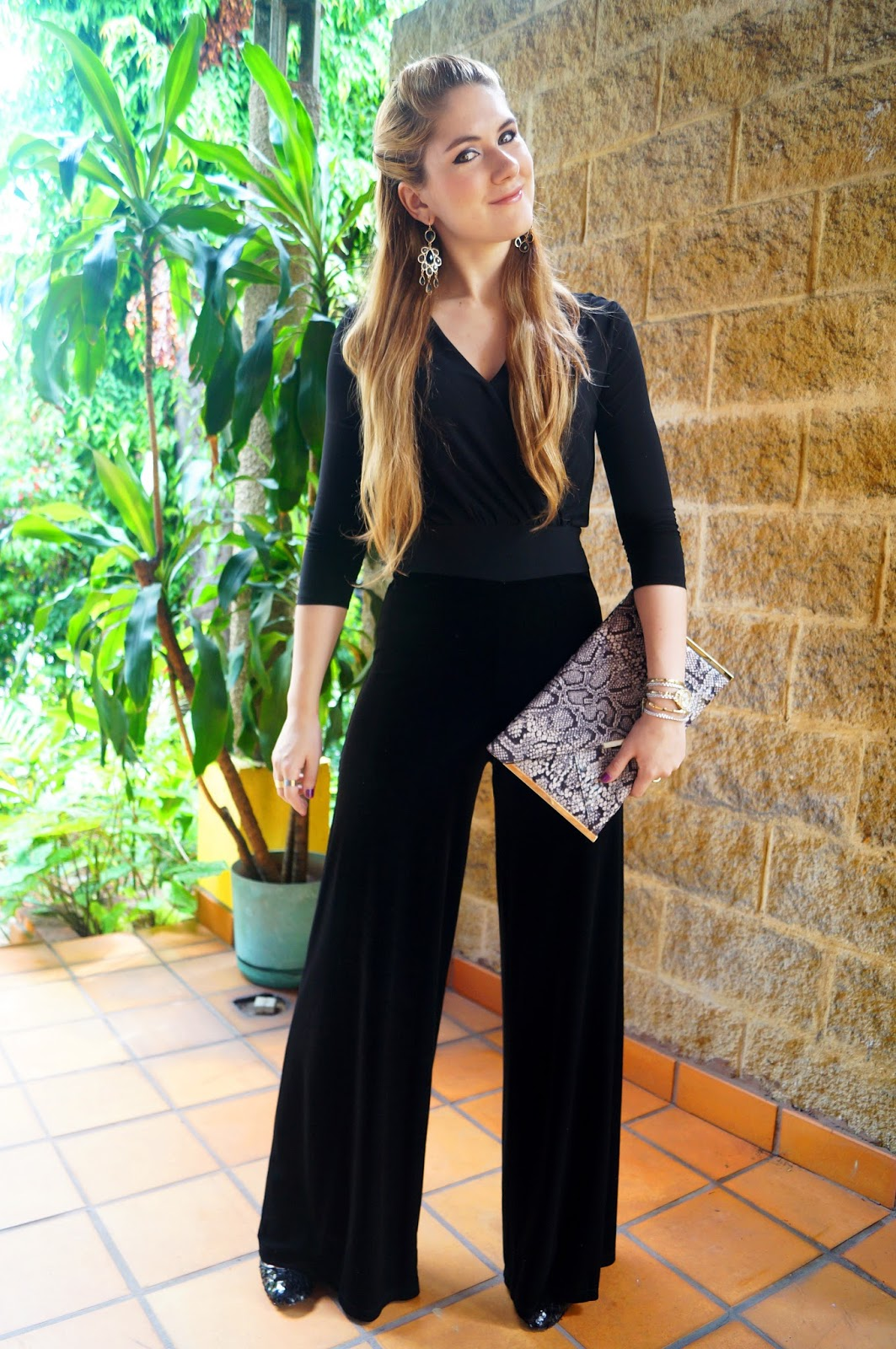 Black Jumpsuit Outfit, Fashion Blog