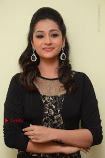 Telugu Actress Manasa Manohar Stills in Black Long Dress at Naku Nene Thopu Turumu Trailer Launch  0063.JPG