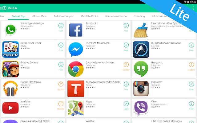 تحميل متجر ون موبايل ماركت 2017 للأندرويد - Download 1 Mobile Market For Android