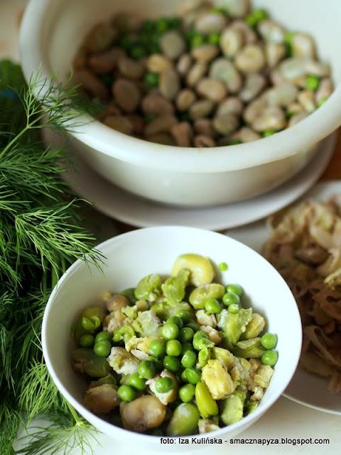 kluski z bobu i groszku, zielone kopytka, warzywa straczkowe, kluseczki z warzyw, mrozone warzywa, mrozonki, zielone jest dobre