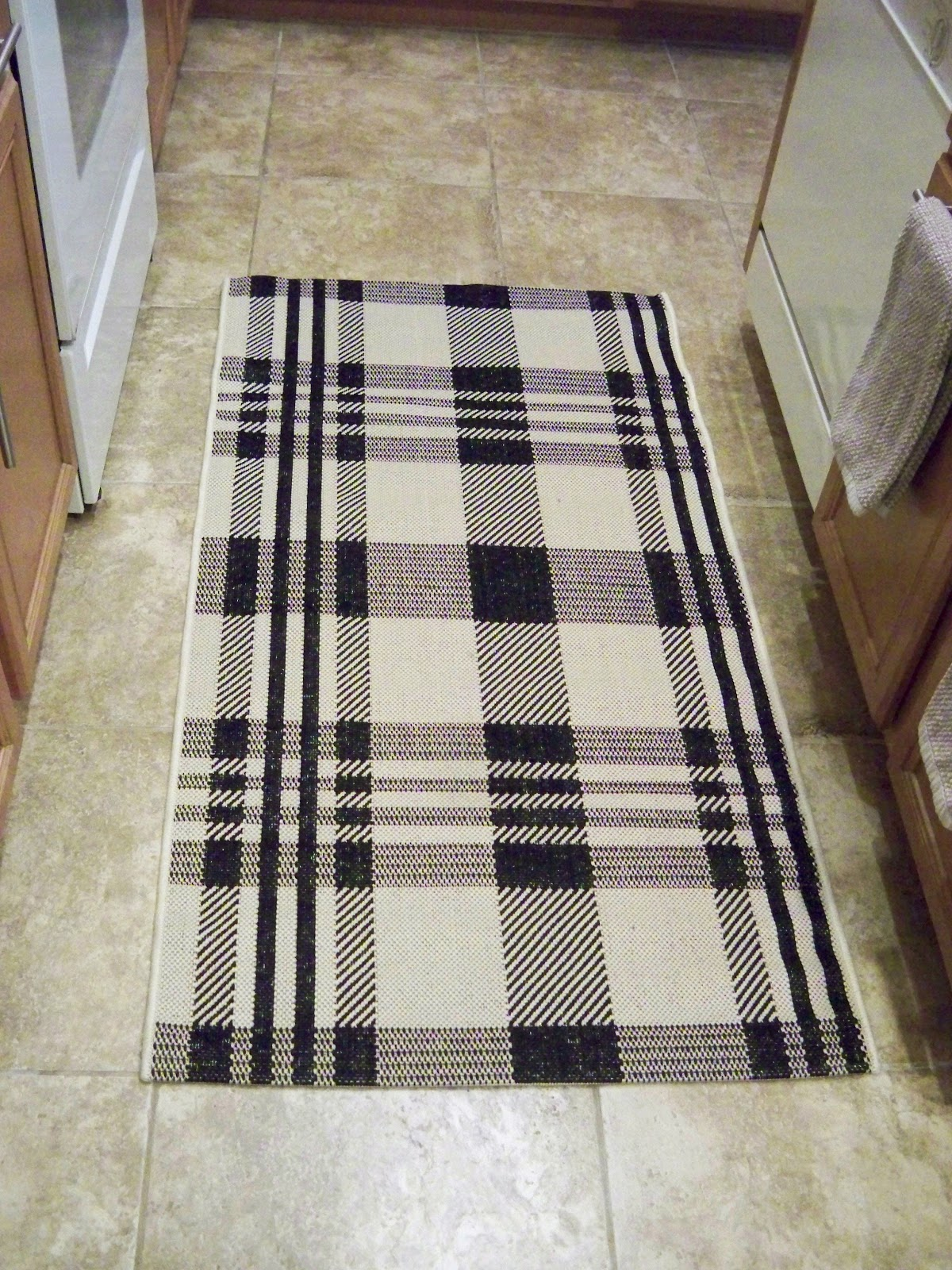 A Stroll Thru Life: A Dining Area Rug & One For The Kitchen