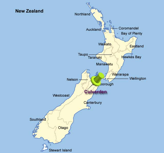 Shirat Devorah Quake New Zealand - Where is new zealand on the map