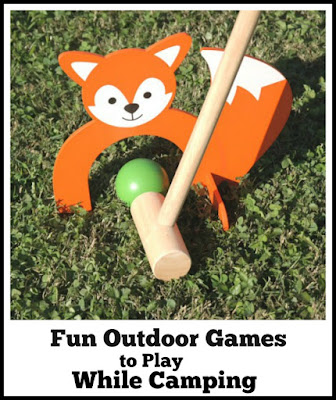 Fun Outdoor Games to Play While Camping
