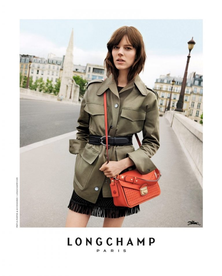 Longchamp Spring/Summer 2018 Campaign