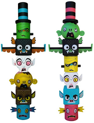 Monster Toytems Vinyl Figures by Gary Ham – Technicolor & Kidrobot Exclusive Colorways