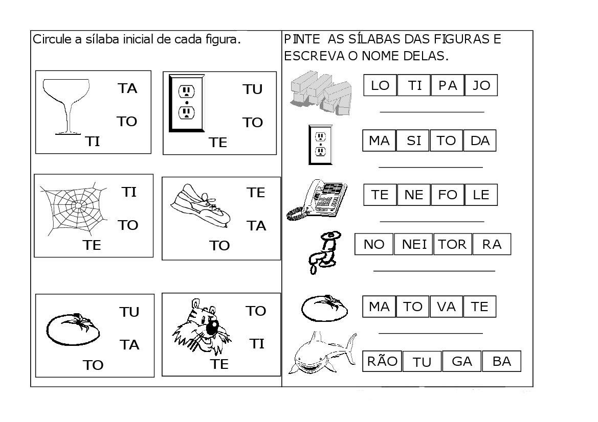 Letra T Alfabeto Exercicios Atividades Atividades E Desenhos