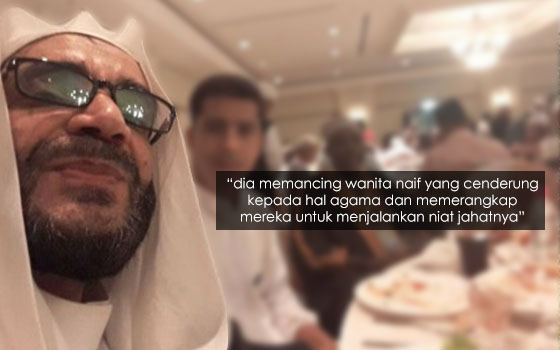 'Habib' Dari Neraka, Mengaku Alim Rupanya Gila Seks