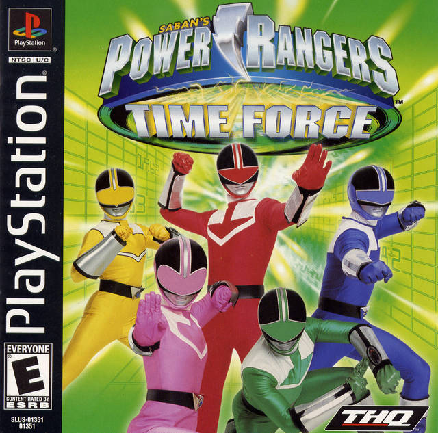 Power Rangers - Time Force - PS1 - ISOs Download