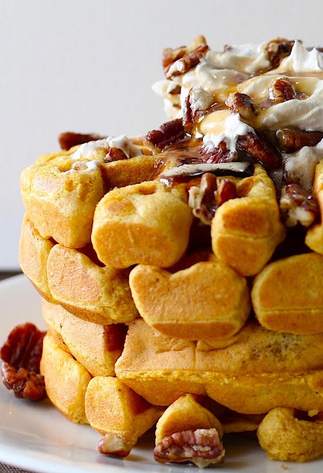 http://www.yammiesnoshery.com/2011/10/pumpkin-belgian-waffles.html