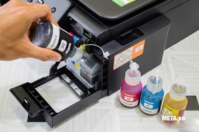 Đổ mực máy in tại nhà giá rẻ