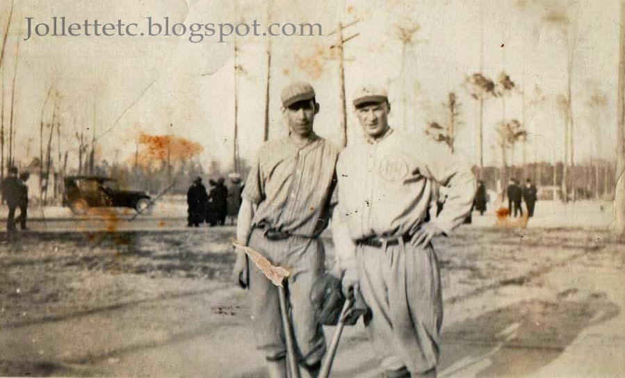 Baseball players about 1918-1920  http://jollettetc.blogspot.com