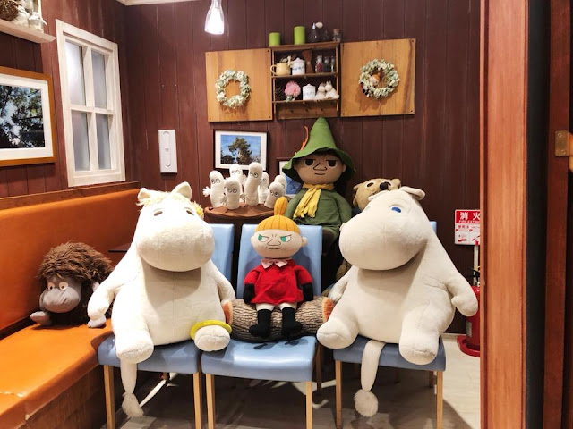 Moomin House Café Tokyo Skytree