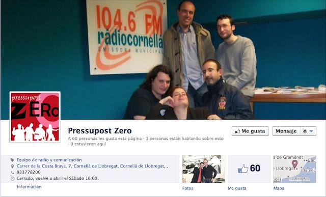 Entrevista a Presupost Zero ràdio Cornellà per parlar de fantasies eròtiques