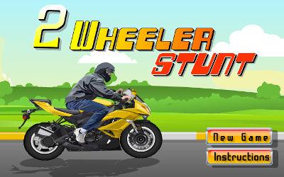 2 Wheeler Stunt - Jeu d'Arcade sur PC