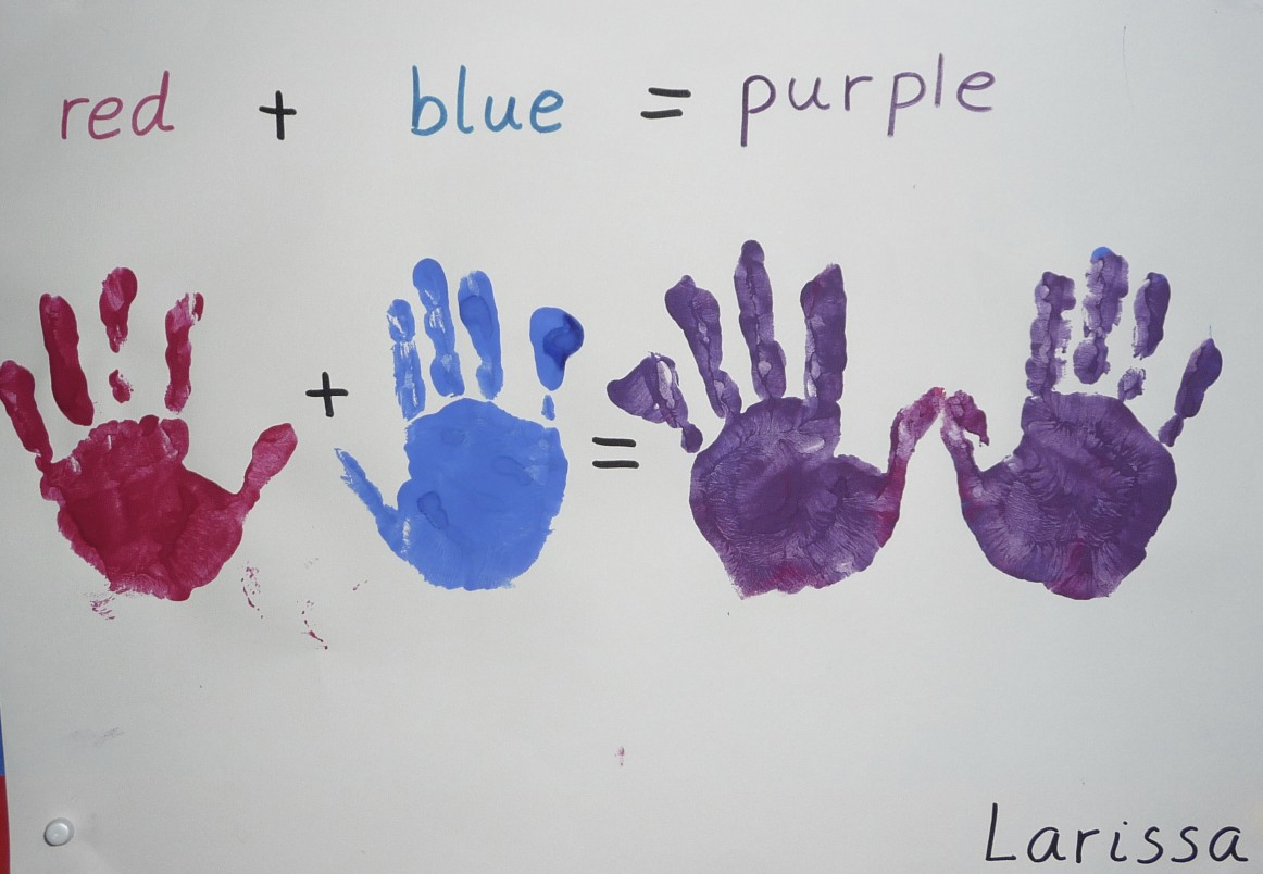 De Mello Teaching Primary Into Secondary Colors