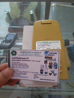 Jual Battery BT52QA untuk Total Station Topcon GTS 232, 233, 235 N