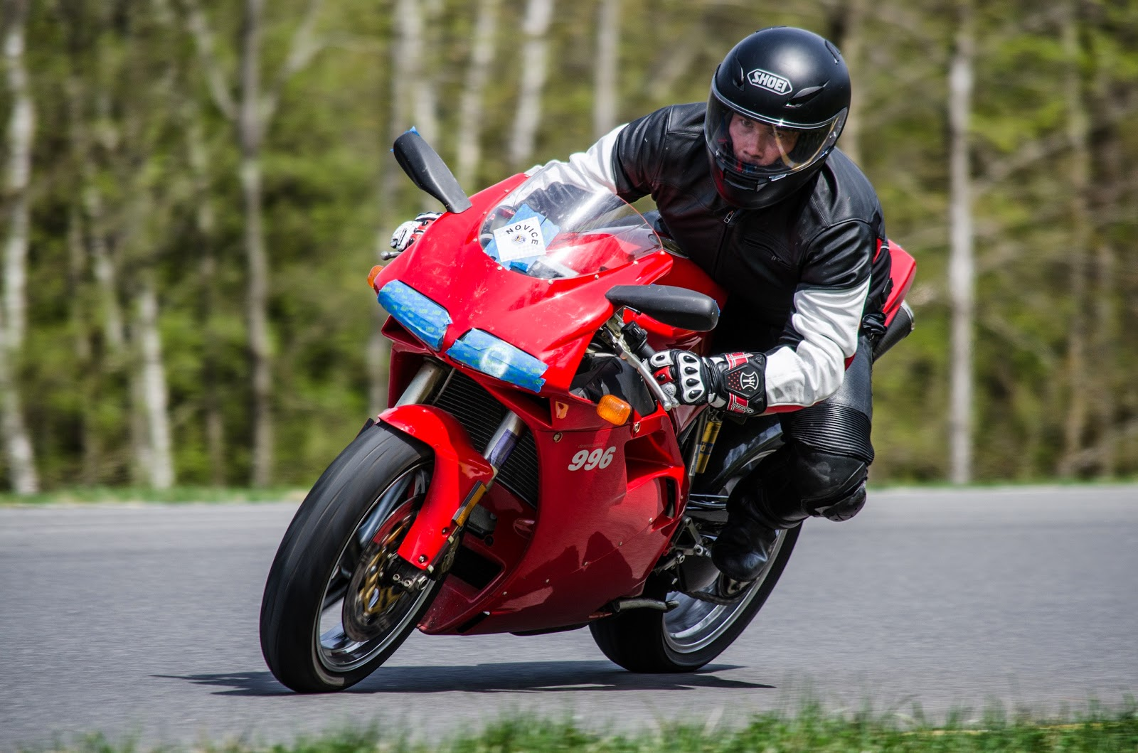 Tigh Loughhead Track Day: Tigho goes to New York Safety Track on his Ducati 996