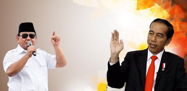 Prabowo Bukan Kandidat Yang Akan Jungkalkan Jokowi