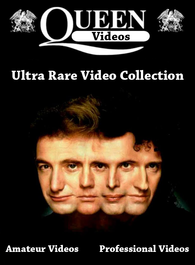 Queen - Ultra Rare Videos Collection