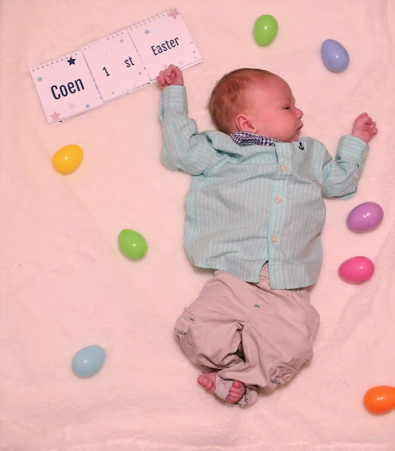 Pictures to take of baby's first Easter