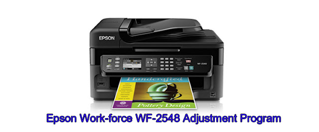 Epson Work-force WF-2548 Adjustment Program