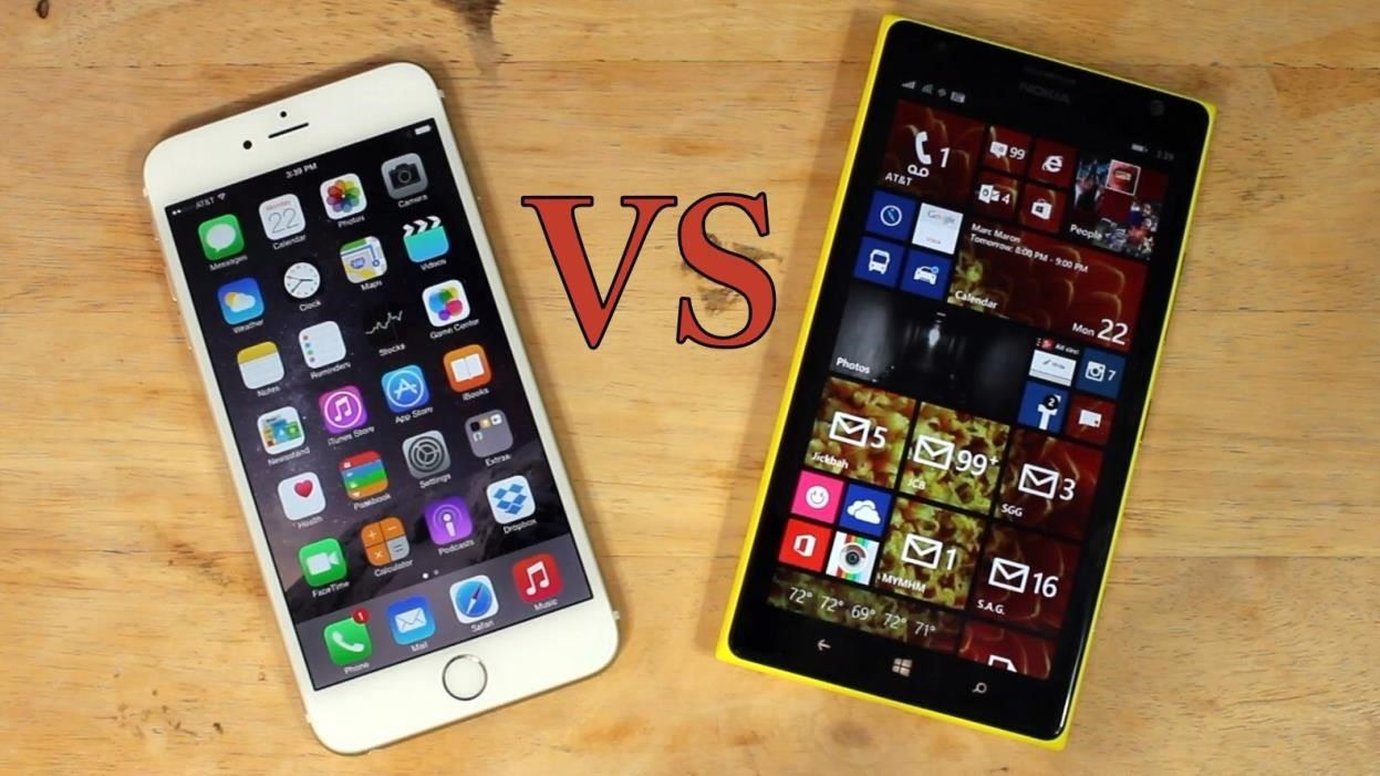 nokia iphone 6 vs android