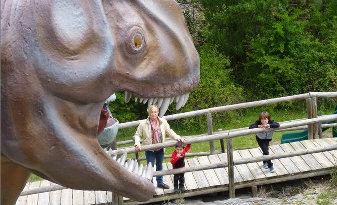 La Senda de los Dinosaurios.