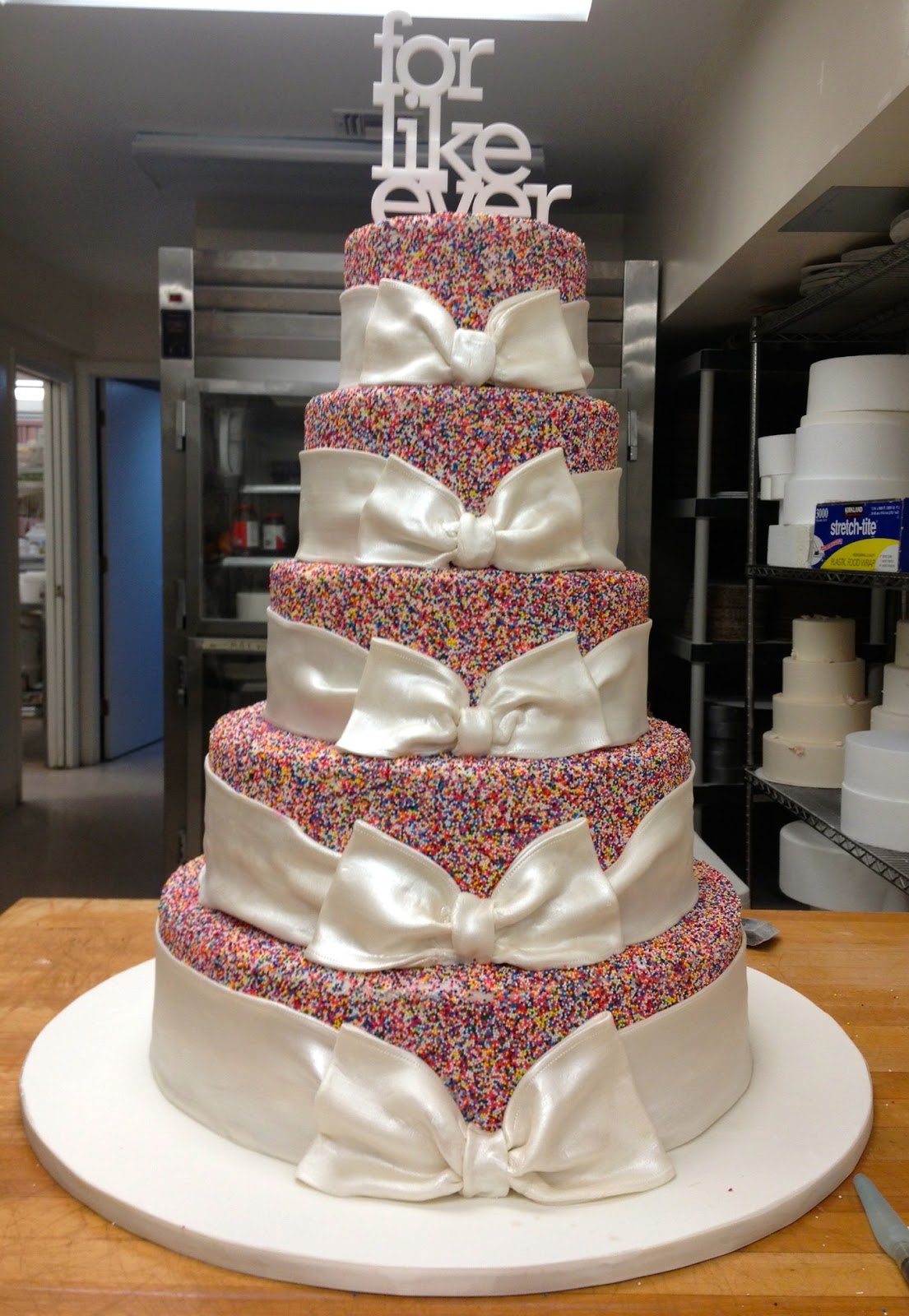 For the Love of Cake by Garry  Ana Parzych Making of a Playful Custom Wedding Cake CT
