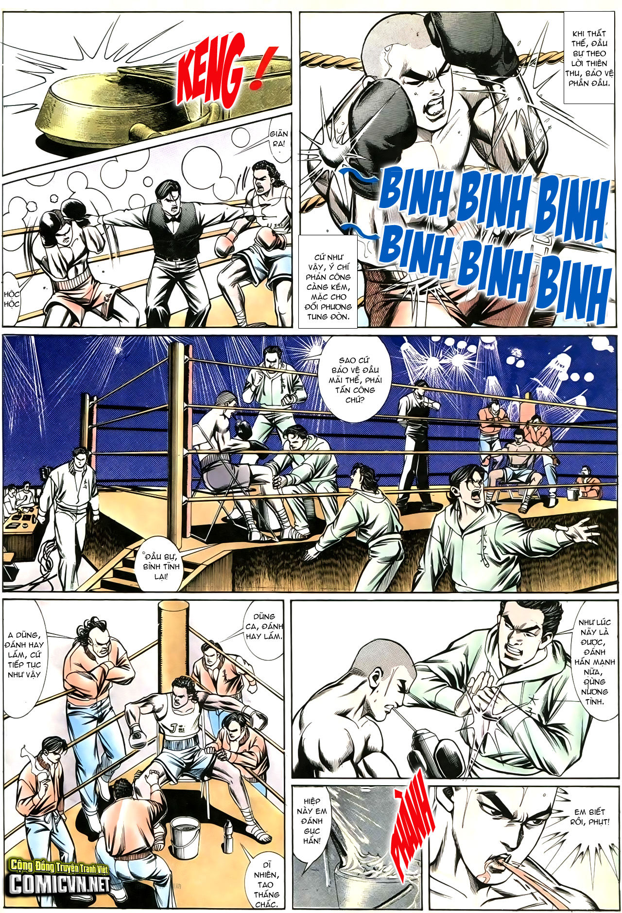 Người Trong Giang Hồ chapter 195: sóng gió ngút trời trang 9