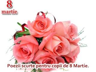 8 Martie Poezii Scurte de Ziua Mamei