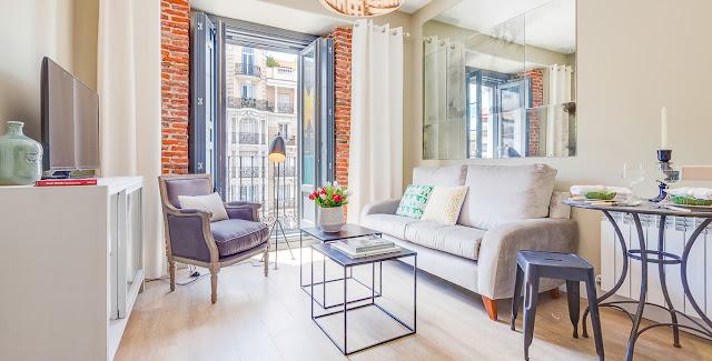 Amenajare modernă și practică pentru un apartament de 45 m² din Madrid