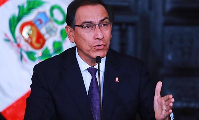 Presidente Vizcarra asegura que el Perú ganó tras resultados del referéndum