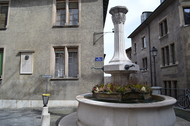 Genebra tem diversas Fontes de Água Potável