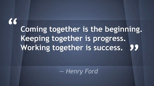 On Working Together