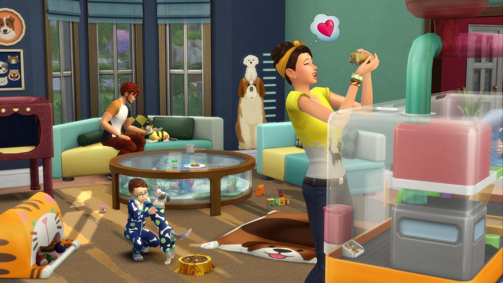 Los Sims 4 Mi Primera Mascota (CODEX) + REPACK PROPER 5 DVD5 + 1 ISO (JPW) 1