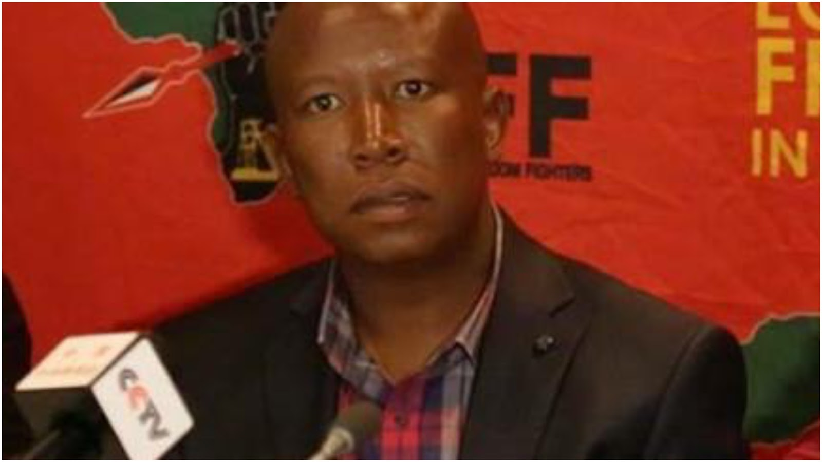 julius malema Eff leader julius malema gave a fiery speech during the funeral service of the freedom fighter.