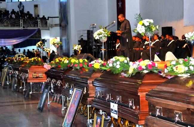 mass burial female bayelsa politicians