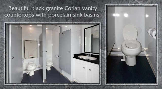 """The Granite"" restroom trailer"