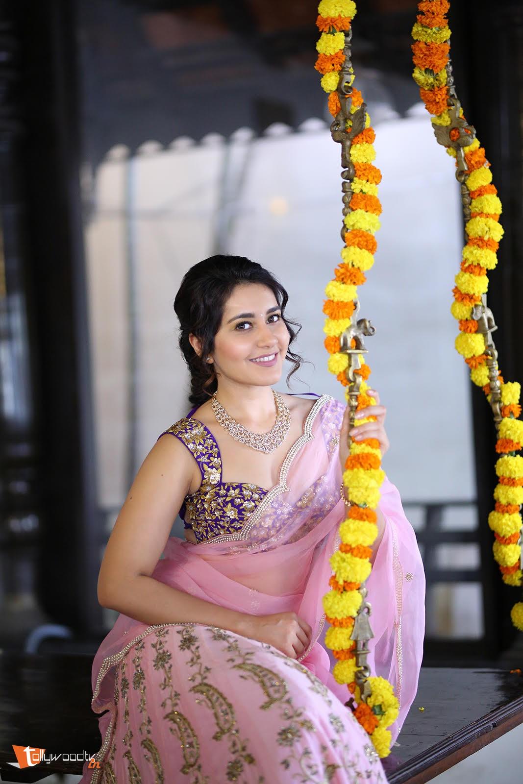 Raashi Khanna Pongal Photoshoot-HQ-Photo-1