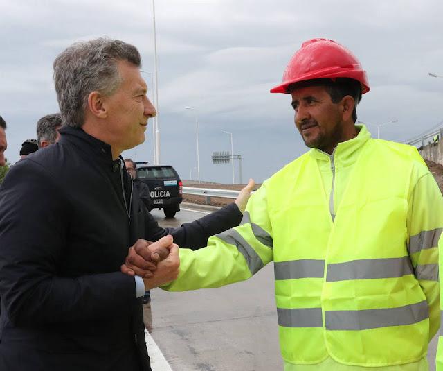 El presidente Mauricio Macri encabezó el acto de inauguración de la Autopista Urbana Rosario