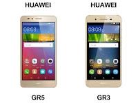 Duo Ponsel Terbaru Huawei GR5 Dan Huawei GR3