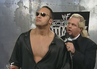 WWE / WWF Royal Rumble 1999 - Doc Hendrix interviews The Rock