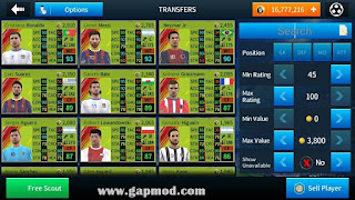Download Dream League Soccer 2018 Mega MOD Apk v5.053 (All Players Unlocked + Unlimited Players Development)