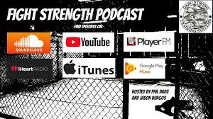 PRPdiscussion on Fight Strength Podcast 36 with Tim Bruce on Platelet Rich Plasma
