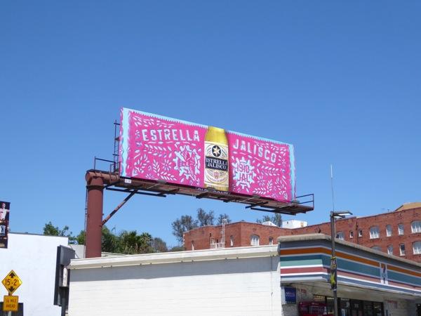 Estrella Jalisco Papel Picado billboard