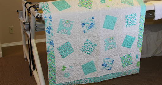 Tipsy Squares Quilt & Table Runner