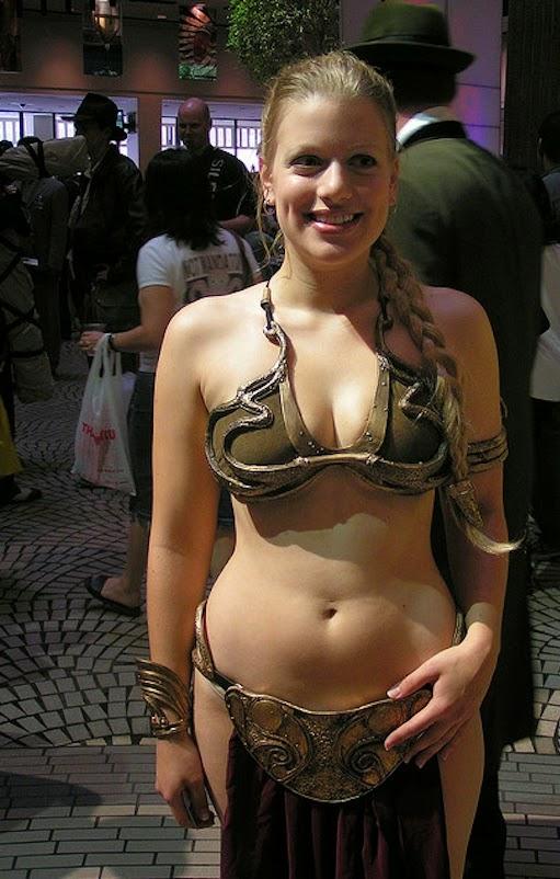leia princess Star slave girl cosplay wars