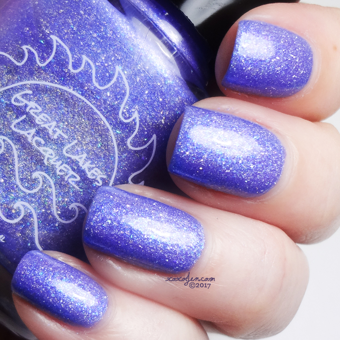 xoxoJen's swatch of Great Lakes Lacquer So Sweet And So Cold