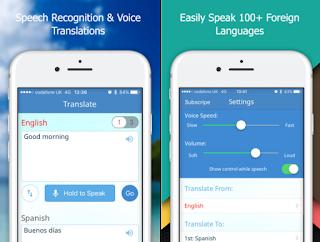 iPhone 限時免費 APP 推薦 - 中文語音輸入翻譯軟體  (iPhone / iPad)