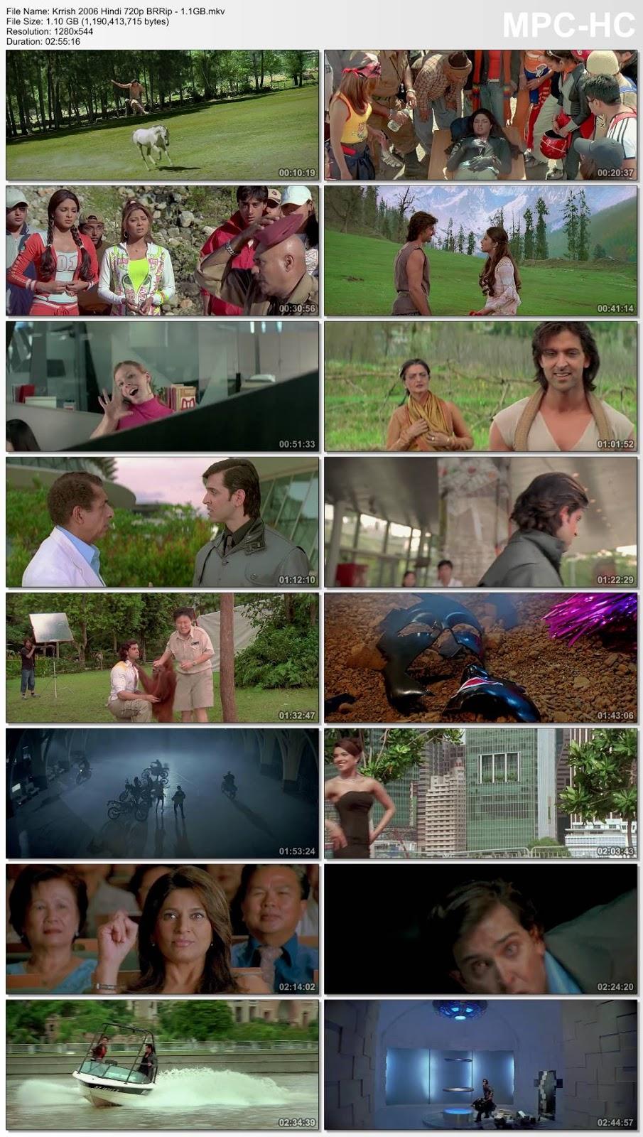 Krrish (2006) Hindi 720p BRRip – 1.1GB Desirehub